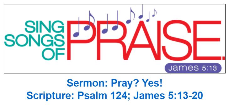 sermon image Pray? Yes!
