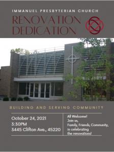 Renovation Dedication Invitation
