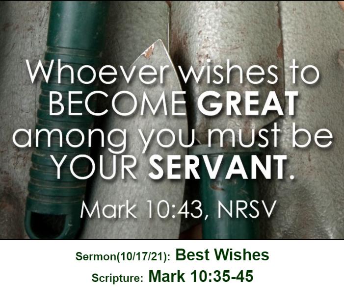 Mark 10:43 Immanuel Sermon Image 10_17_21